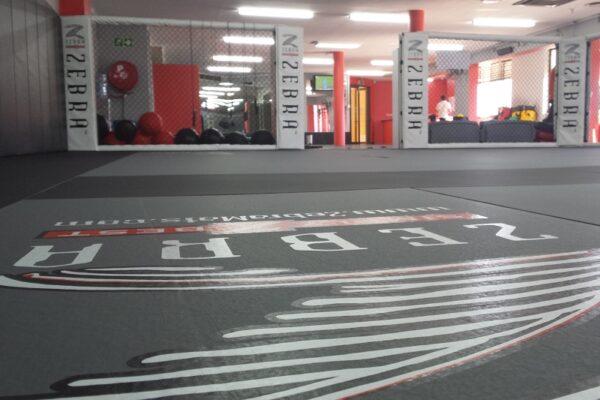 REPS Zebra mats Installation