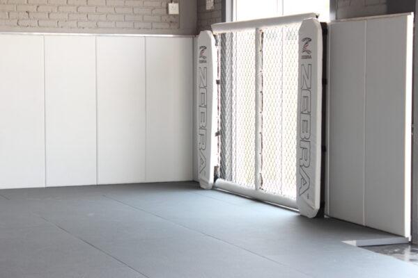 Zebra Cage Panel at Apex