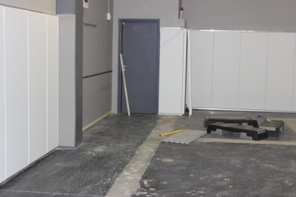 Installation Wall Pads