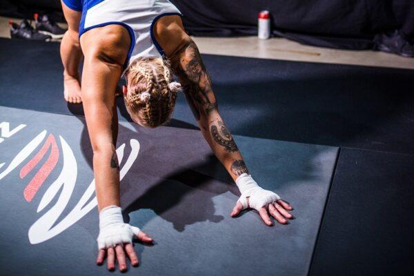 Zebra MMA Mats