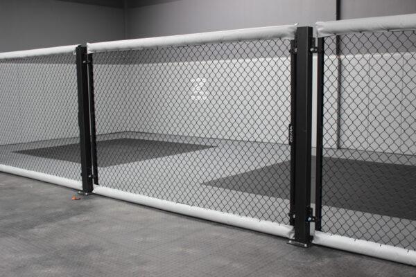zebra cage panels at warehouse mma 7