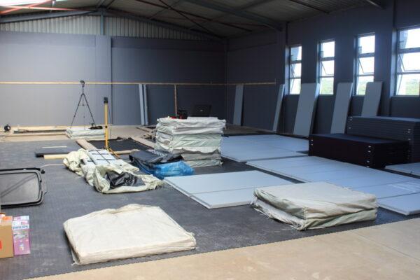pre installation at warehouse mma 6